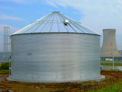 steel corrugated tank