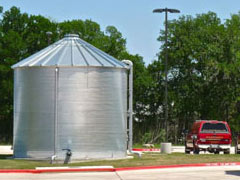 corrugated fire suppression tanks
